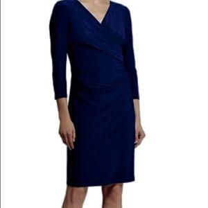 Ralph Lauren Navy Blue Knit Dress